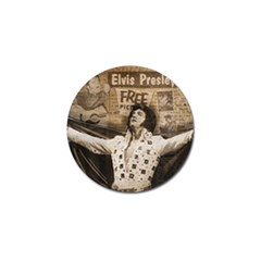 Vintage Elvis Presley Golf Ball Marker (10 Pack)