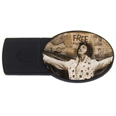 Vintage Elvis Presley Usb Flash Drive Oval (2 Gb)