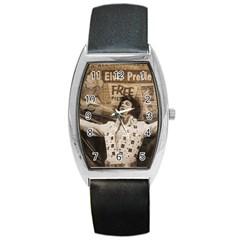 Vintage Elvis Presley Barrel Style Metal Watch