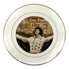 Vintage Elvis Presley Porcelain Plates
