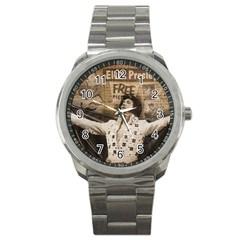 Vintage Elvis Presley Sport Metal Watch