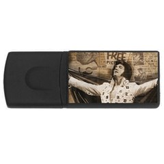 Vintage Elvis Presley Rectangular Usb Flash Drive
