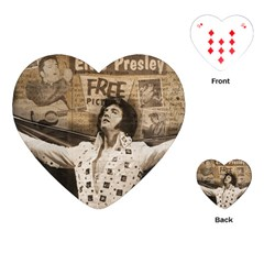 Vintage Elvis Presley Playing Cards (heart)