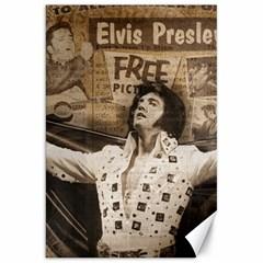 Vintage Elvis Presley Canvas 20  X 30
