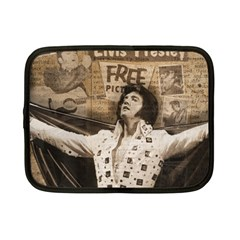 Vintage Elvis Presley Netbook Case (small)