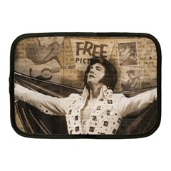 Vintage Elvis Presley Netbook Case (medium)