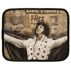 Vintage Elvis Presley Netbook Case (large)