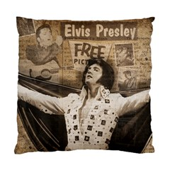 Vintage Elvis Presley Standard Cushion Case (two Sides)