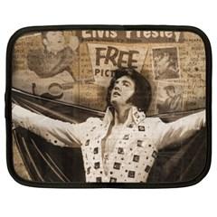 Vintage Elvis Presley Netbook Case (xxl)