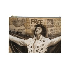 Vintage Elvis Presley Cosmetic Bag (large)