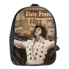 Vintage Elvis Presley School Bag (large)