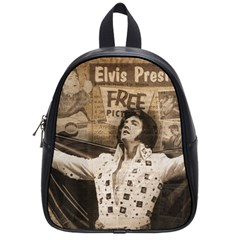 Vintage Elvis Presley School Bag (small)