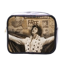 Vintage Elvis Presley Mini Toiletries Bags