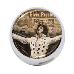 Vintage Elvis Presley 4 Port Usb Hub (two Sides)