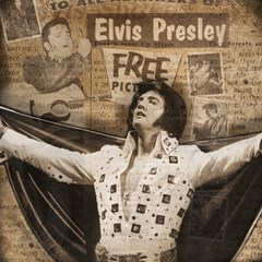 Vintage Elvis Presley Magic Photo Cubes