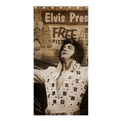 Vintage Elvis Presley Shower Curtain 36  X 72  (stall)