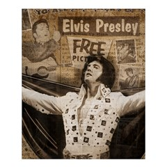 Vintage Elvis Presley Shower Curtain 60  X 72  (medium)