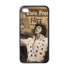 Vintage Elvis Presley Apple Iphone 4 Case (black)