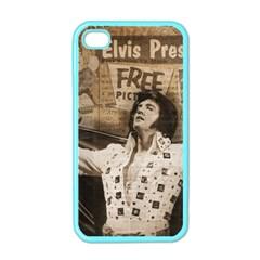 Vintage Elvis Presley Apple Iphone 4 Case (color)
