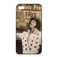 Vintage Elvis Presley Apple Iphone 4/4s Seamless Case (black)