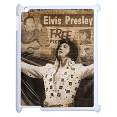 Vintage Elvis Presley Apple Ipad 2 Case (white)