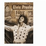 Vintage Elvis Presley Small Garden Flag (Two Sides) Front