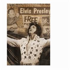 Vintage Elvis Presley Large Garden Flag (two Sides)