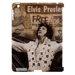 Vintage Elvis Presley Apple Ipad 3/4 Hardshell Case (compatible With Smart Cover)