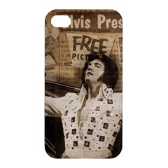 Vintage Elvis Presley Apple Iphone 4/4s Premium Hardshell Case