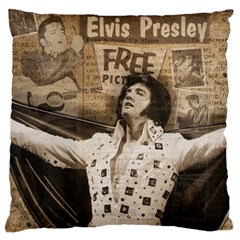 Vintage Elvis Presley Large Cushion Case (one Side)