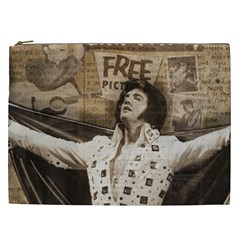 Vintage Elvis Presley Cosmetic Bag (xxl)