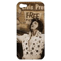 Vintage Elvis Presley Apple Iphone 5 Hardshell Case