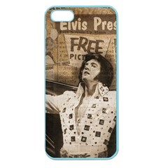 Vintage Elvis Presley Apple Seamless Iphone 5 Case (color)