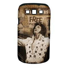 Vintage Elvis Presley Samsung Galaxy S Iii Classic Hardshell Case (pc+silicone)
