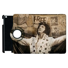 Vintage Elvis Presley Apple Ipad 2 Flip 360 Case