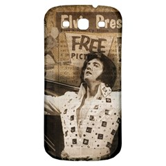 Vintage Elvis Presley Samsung Galaxy S3 S Iii Classic Hardshell Back Case