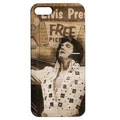 Vintage Elvis Presley Apple Iphone 5 Hardshell Case With Stand
