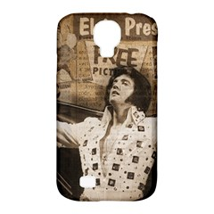 Vintage Elvis Presley Samsung Galaxy S4 Classic Hardshell Case (pc+silicone)