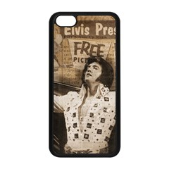 Vintage Elvis Presley Apple Iphone 5c Seamless Case (black)
