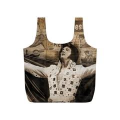 Vintage Elvis Presley Full Print Recycle Bags (s)