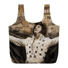 Vintage Elvis Presley Full Print Recycle Bags (l)