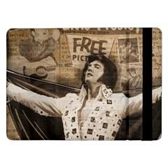 Vintage Elvis Presley Samsung Galaxy Tab Pro 12 2  Flip Case