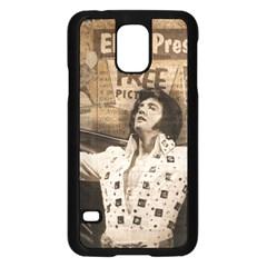 Vintage Elvis Presley Samsung Galaxy S5 Case (black)