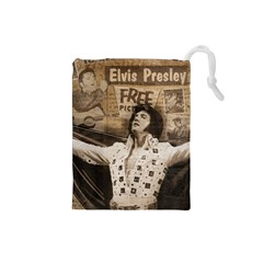 Vintage Elvis Presley Drawstring Pouches (small)