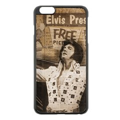 Vintage Elvis Presley Apple Iphone 6 Plus/6s Plus Black Enamel Case
