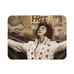 Vintage Elvis Presley Double Sided Flano Blanket (mini)