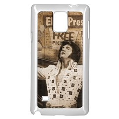 Vintage Elvis Presley Samsung Galaxy Note 4 Case (white)