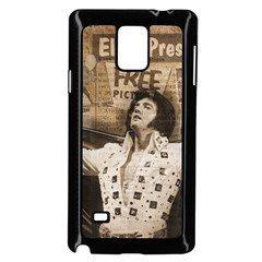 Vintage Elvis Presley Samsung Galaxy Note 4 Case (black)