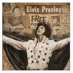 Vintage Elvis Presley Large Satin Scarf (square)