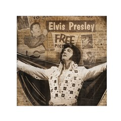Vintage Elvis Presley Small Satin Scarf (square)